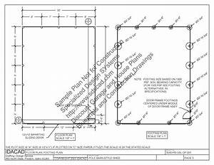 pole barn lean to plans sds plans With 30x40 pole barn material list
