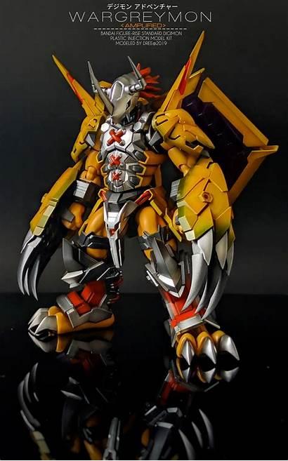 Wargreymon Figure Rise Ver Dree Adree Custom