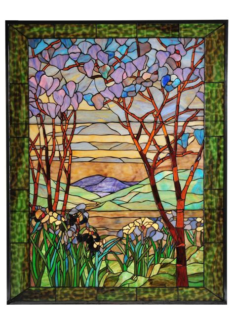 tiffany stained glass l desire826