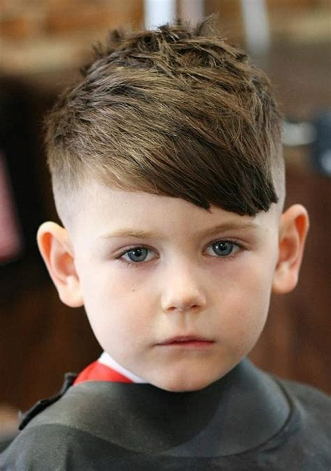 Kid Boy Hairstyles by 50 Toddler Boy Haircuts Your Will