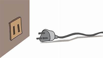 Plug Wall Socket Power Electric Vector Graphic