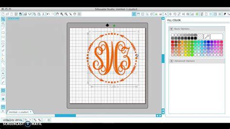 monogram  silhouette studio youtube