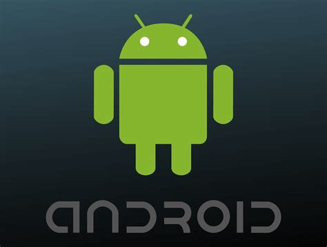 free android android logo vector graphics freevector