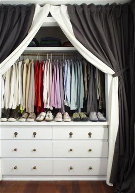 best 20 curtain closet ideas on