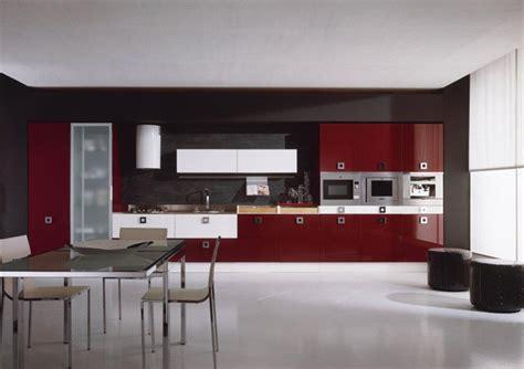cuisine grise et bordeaux decoration cuisine bordeaux