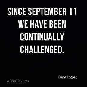 David Cooper Qu... David Cooper Quotes