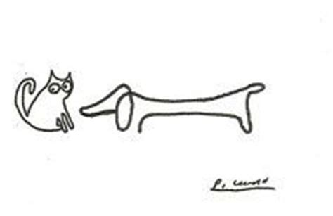 Picasso Drawing, Dog Drawings And Drawings On Pinterest
