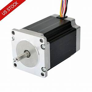 Us Ship Nema 23 Stepper Motor 2 83nm 4a 8
