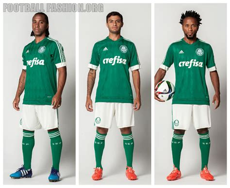 Palmeiras live score (and video online live stream*), team roster with season schedule and results. Palmeiras 2015/16 adidas Home Kit - FOOTBALL FASHION.ORG