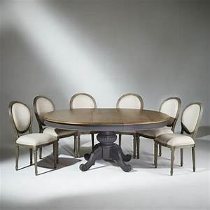 table salle a manger bois vieilli latest dcoration salle With beautiful meuble tele maison du monde 8 salle a manger moderne avec table ronde