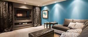 Decoration et amenagement sous sol bureau et cinema for Salle de bain design avec décoration cinéma maison