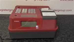 Casio SE-G1 SD-RD Red Cash register till Page 2