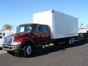 International Crew Cab Box Truck