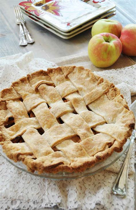 My grandmother barb makes amazing homemade apple pies! easy apple pie crust recipe from scratch