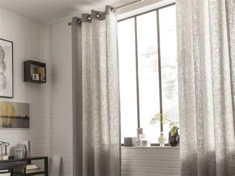 tenture plafond chambre rideau voilage vitrage et rideaux sur mesure leroy merlin