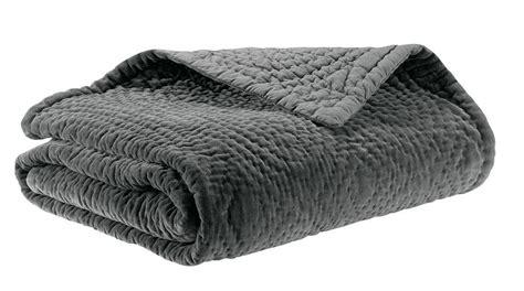 boutis pour canapé plaid boutis nara gris winkler