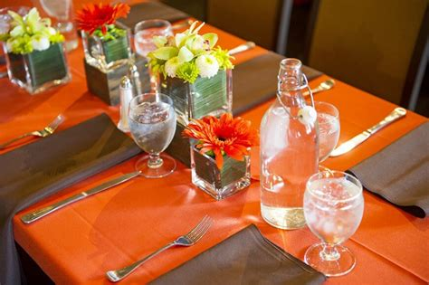 Orange Kitchen Ideas - 44 fancy table setting ideas for dinner parties and holidays