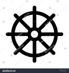 Dharma Wheel Buddhist Symbols