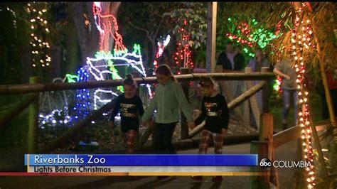 riverbanks zoo goes wild with christmas lights abc columbia