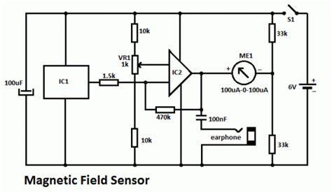 magnetic field sensor circuit magnetic field sensor circuit