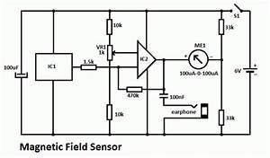 Magnetic Field Sensor Circuit