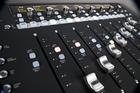avid artist mix control surface zzounds