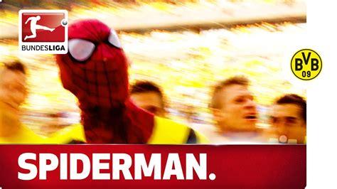 Aubameyang's Spiderman Mask Celebration - YouTube