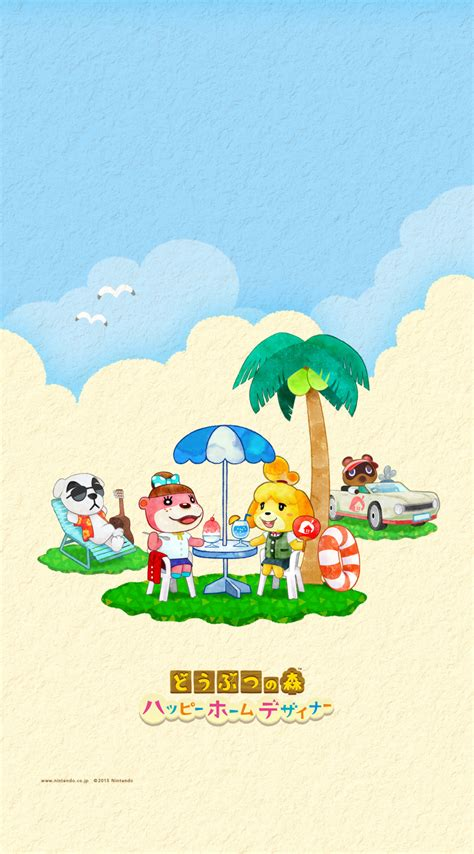 Animal Crossing Desktop Wallpaper Cute Summer Animal Crossing Happy Home Designer Wallpapers From Nintendo Animal Crossing World