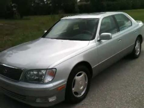 how do i learn about cars 1999 lexus gs security system 1999 lexus ls400 view our current inventory at fortmyerswa com youtube