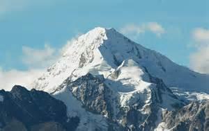 Bolivia Andes Mountain Range