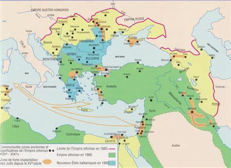Carte De L Empire Ottoman by Carte Empire Ottoman Carte Du Monde