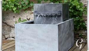 Brunnen Garten Modern : moderner zink gartenbrunnen meditazione ~ Michelbontemps.com Haus und Dekorationen