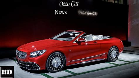 wow amazing  mercedes maybach  convertible world