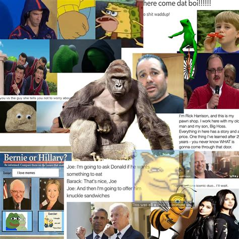Collage Meme - collage of 2016 s best memes memes