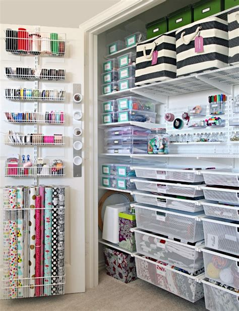 Top 10 Colorful And Organized Craft Room Ideas  Day 20