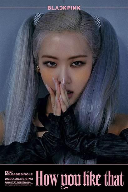 Blackpink Poster Rose Countdown Soompi Members Teaser