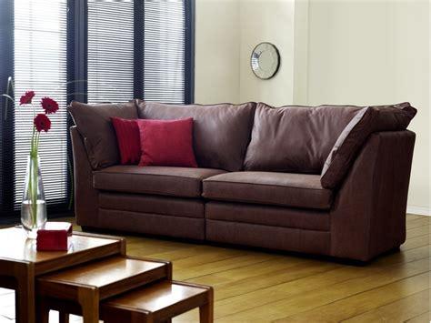 Large Leather Sofa by Montana Large Leather Sofa The Sofa Company