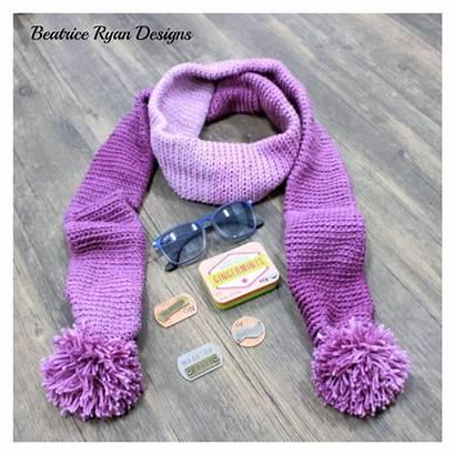Scarf Winter Simple Crochet Pattern Ravelry Patterns
