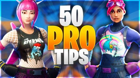 50 Pro Tips To Become A God In Fortnite! New Advanced Tips