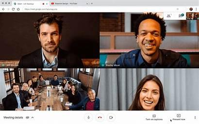 Meet Google Present Audio Alta Comparta Tab
