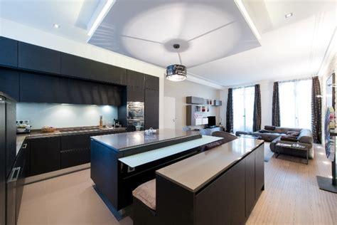 prix d une cuisine avec ilot central cuisine ouverte avec lot rtroclair ged cucine with cuisine