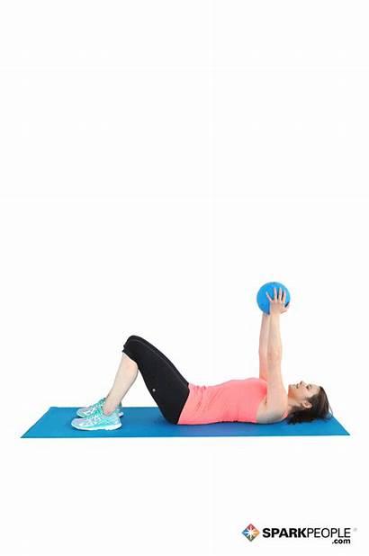 Ball Medicine Crunches Exercise Exercises Workout Abs