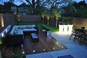 terrasse bois eclairage With eclairage pour terrasse en bois exterieur 1 eclairage de balcons terrasses jardinelec