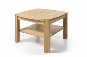 Table Basse Carrée : table basse carr e en bois massif cbc meubles ~ Teatrodelosmanantiales.com Idées de Décoration