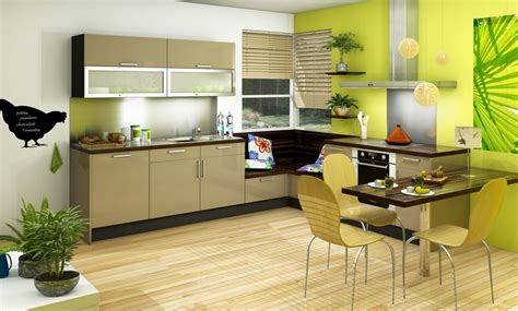 cuisine et beige cuisine vitaminée glossy glam beige vert idée de