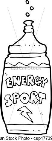 cartoon energy drink royalty  vector graphic