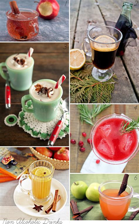 christmas cocktails non alcoholic festive drinks merry