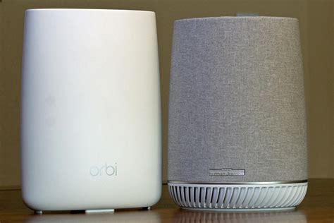 netgear orbi voice review it s not the best smart speaker but it s an excellent wi fi