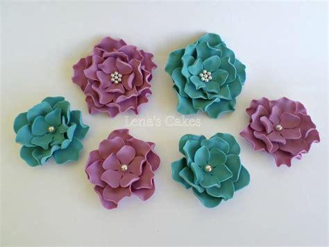 sugar flowers  cakes edible fondant flowers roses