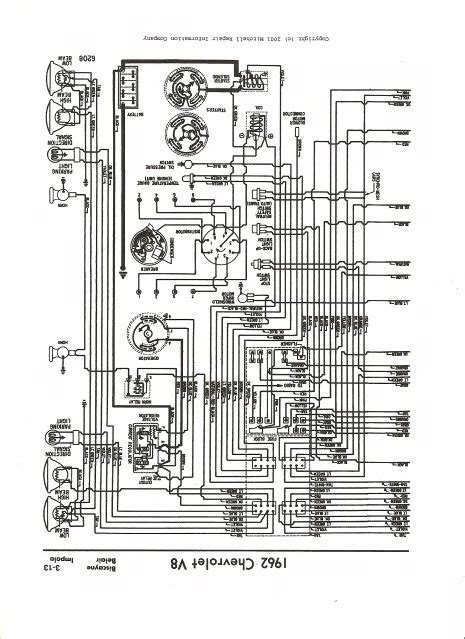 i need a complete wiring diagram for a 1962 chevy impala with a 283 i am completely rewiring